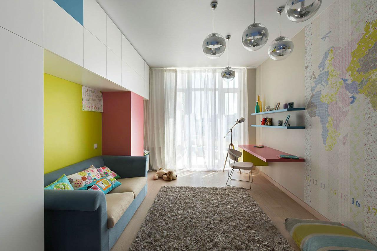 Дизайны детских комнат в хрущевке