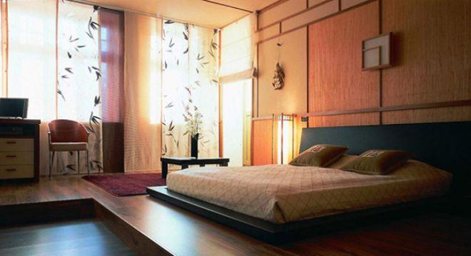 кровать в стиле феншуй