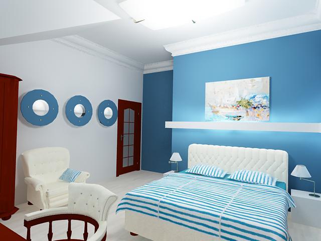 спальня в стиле фен-шуй