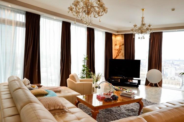 Вдохновляющие идеи для штор в гостиную – тенденции 2022