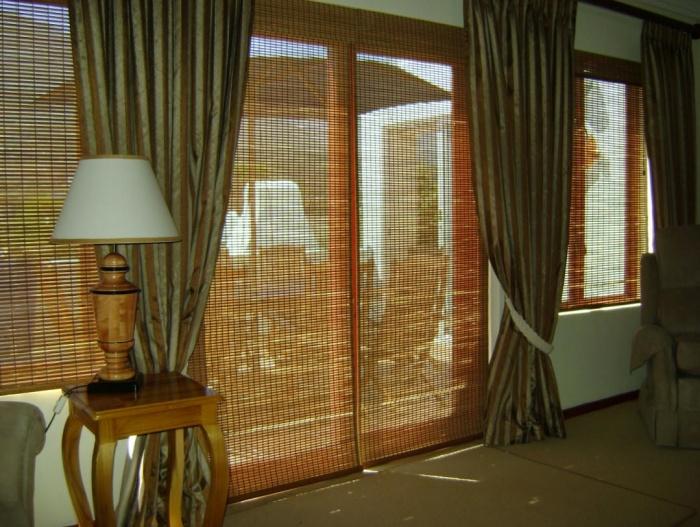 Разновидности и свойства бамбуковых штор