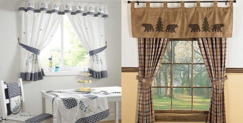 Как выбрать и где лучше заказывать шторы для кухни?