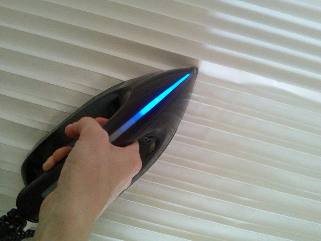 Как делается плиссировка ткани в домашних условиях?