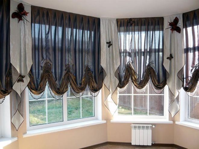 Актуальная классика: австрийские шторы в интерьере