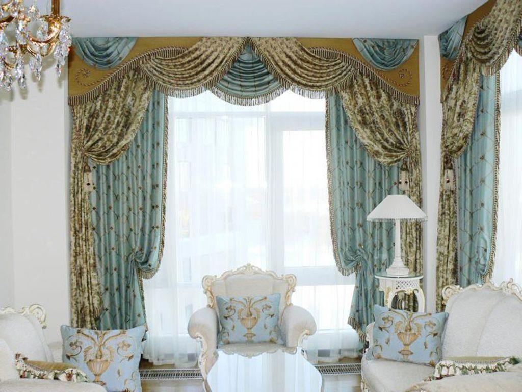 Чем примечательны шторы в классическом стиле, их виды и описание