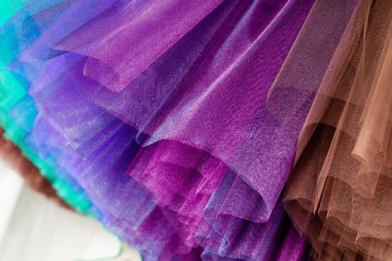 Что такое сеточная ткань фатин?