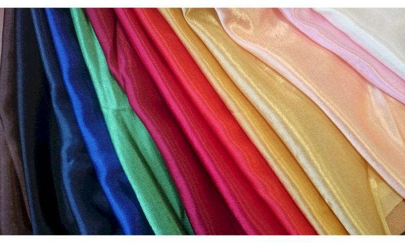 Виды и свойства ткани атлас