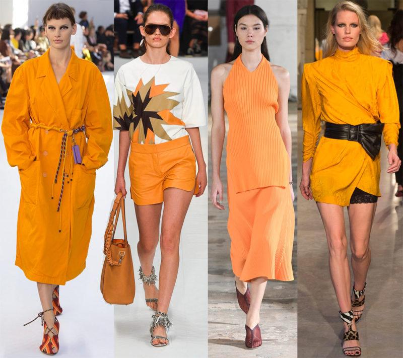 Весенне-летние цвета: колористические тренды теплого сезона 2019