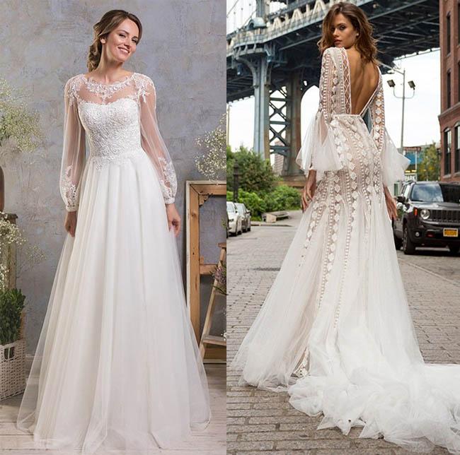 Как стать самой красивой невестой, модные свадебные наряды сезона весна-лето 2019