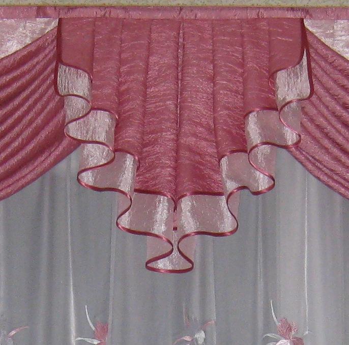 Что такое джабот, интересные варианты оформления окон с помощью «галстука» для штор