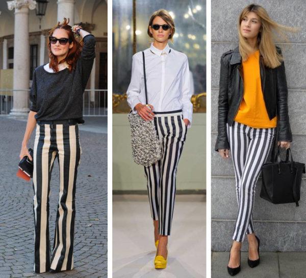 Такая разная полоска: модные варианты одежды со стильным принтом