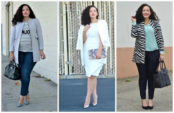 0c2b9bc4ab4 Как одеваться полным женщинам  практические советы стилистов