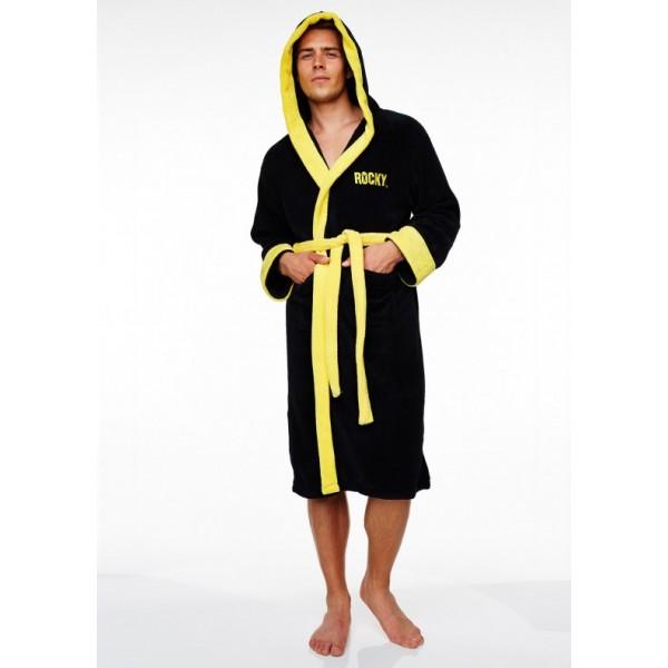 Выбираем модный мужской халат, актуальные фасоны и цвета