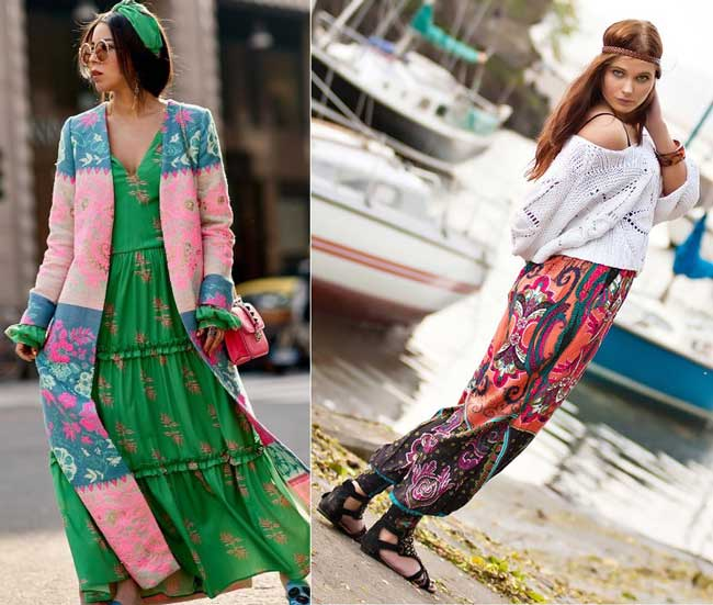 В моду возвращается стиль джипси, что носить, чтобы выделиться?