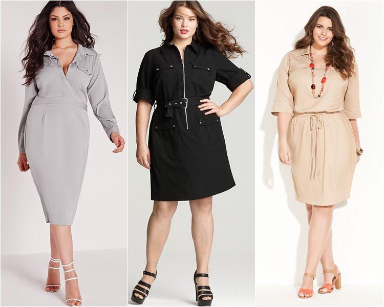 23e68183 Как с помощью одежды выглядеть стройнее, секреты стилистов для полных женщин