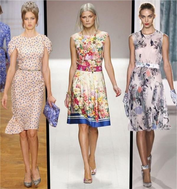 Выбираем модное платье сезона весна-лето 2019