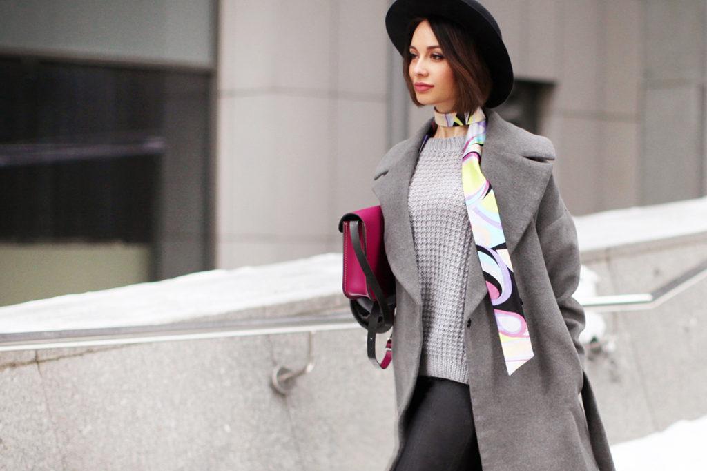 Модные шарфы-галстуки унисекс 2019 года, как выбрать и носить?