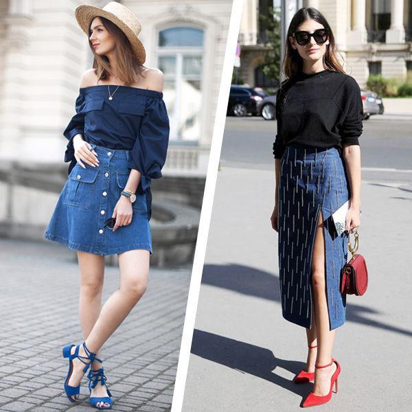 Джинсовая юбка — тренд и основа гардероба летнего сезона 2019, модные фасоны и правила сочетания
