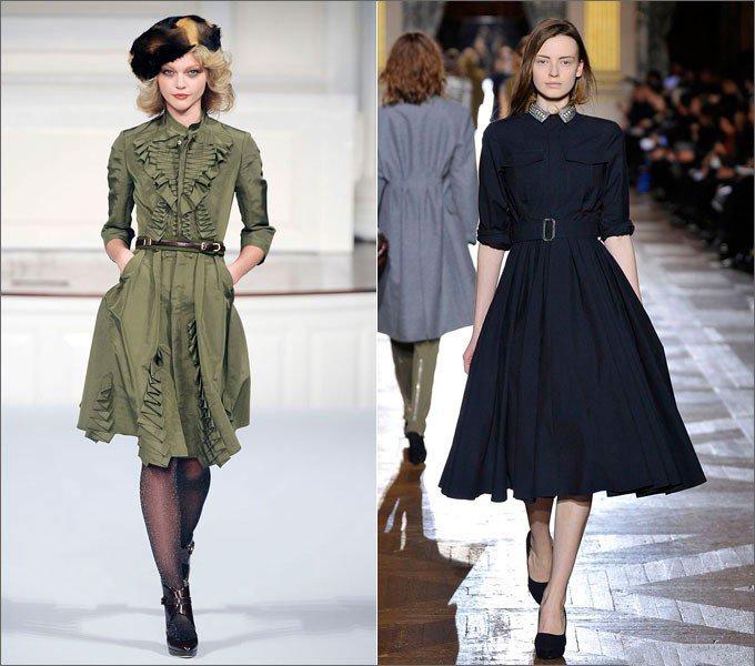 Возвращение в моду тенденций 1950-х годов