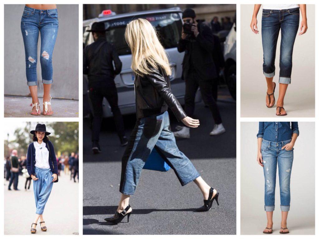 С какой обувью носятся джинсы — вопрос далеко не праздный