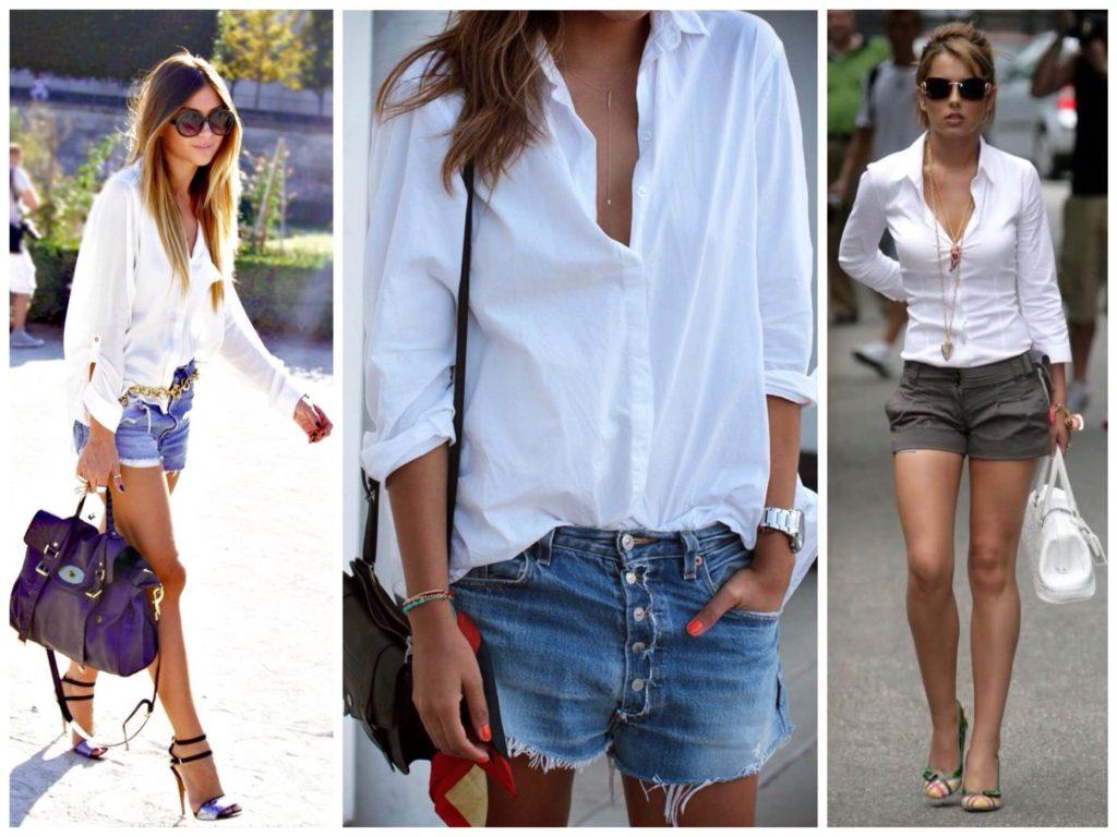 Как выгодно комбинировать мужскую белую рубашку: 5 классных образов на лето