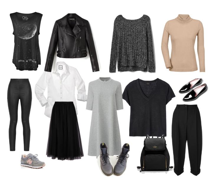 Правила составления актуального базового гардероба