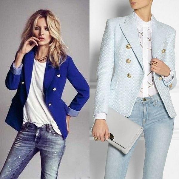 Почему пиджак и жакет не застегивают на все пуговицы?