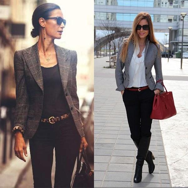 Мужской пиджак как самый сексуальный предмет сезона в женском гардеробе