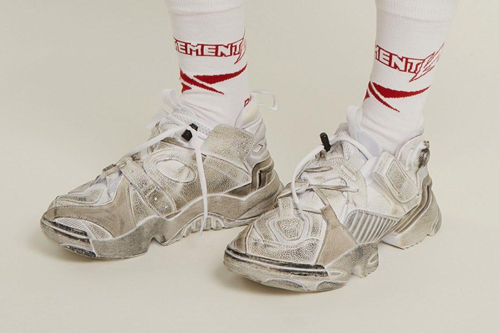 Новый тренд лета — «грязные» кроссовки