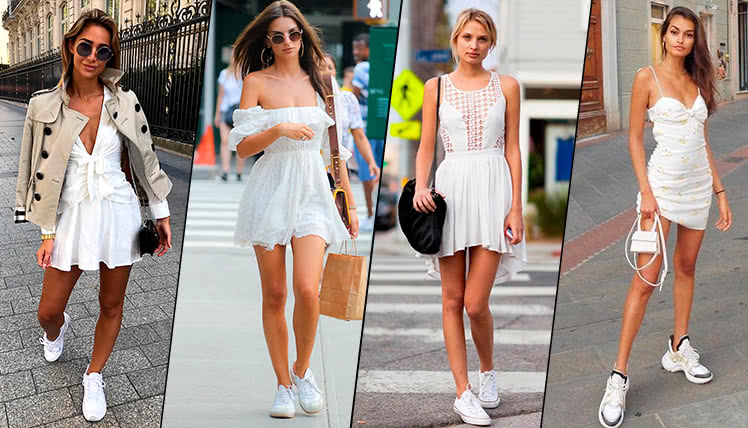 Как подобрать обувь к короткому платью: советы стилистов