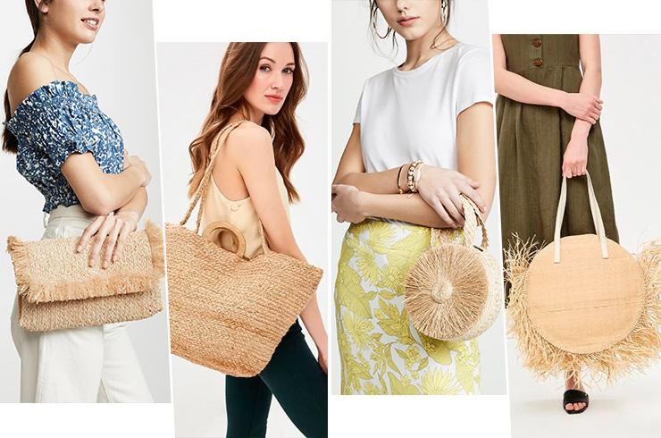 Какие пляжные сумки в моде в этом году?