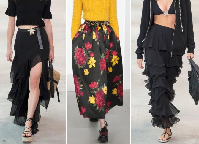 Стильные модели юбок 2019: что выбрать этим летом?