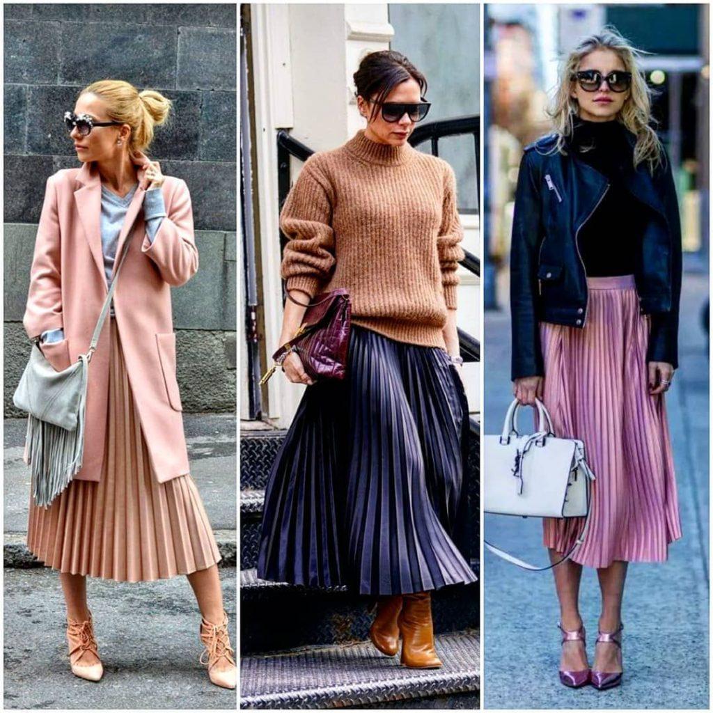 Модные юбки в осеннем гардеробе 2019