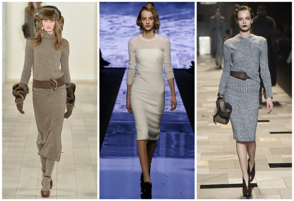 Правила выбора ткани для платьев различных стилей