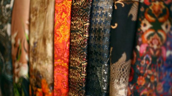Изысканные ткани из Италии