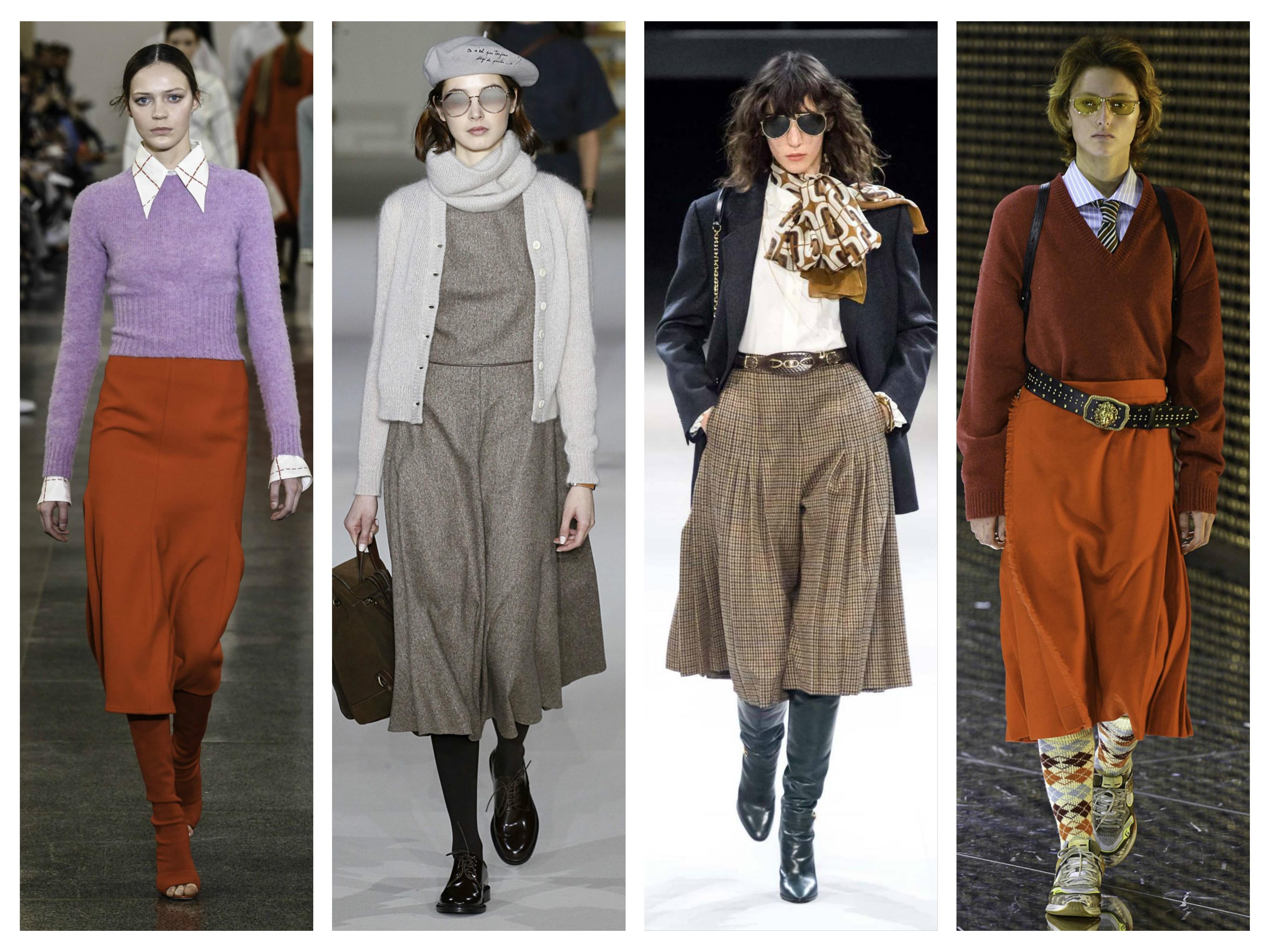 модные луки в стиле 70-х