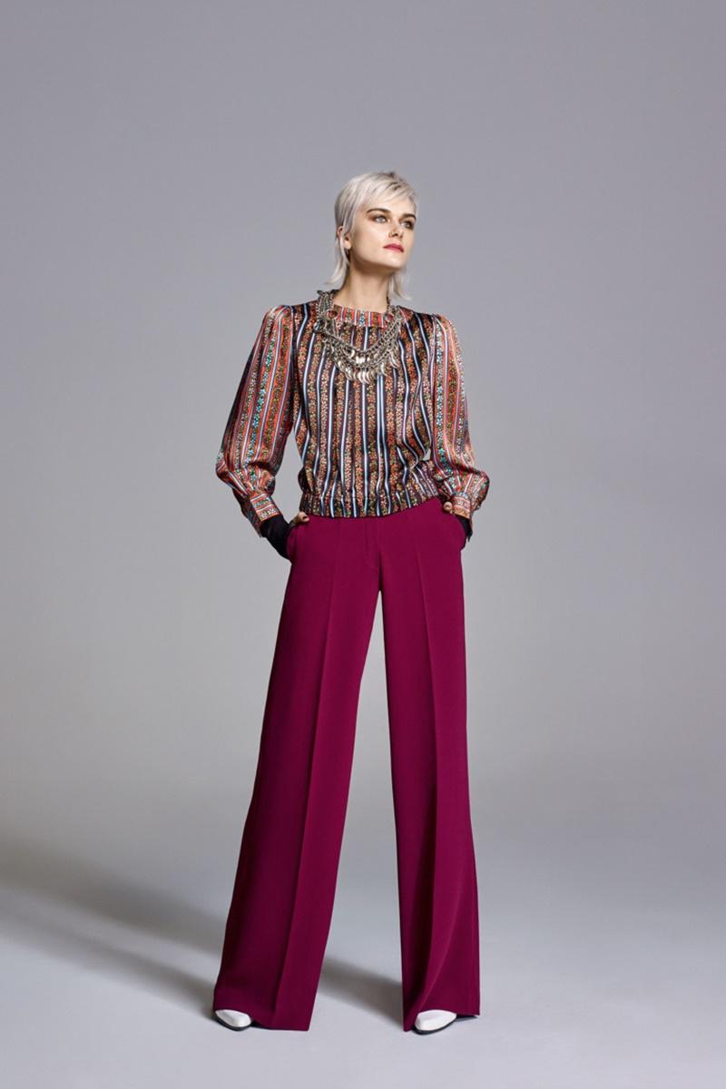 модные ультрадинные брюки