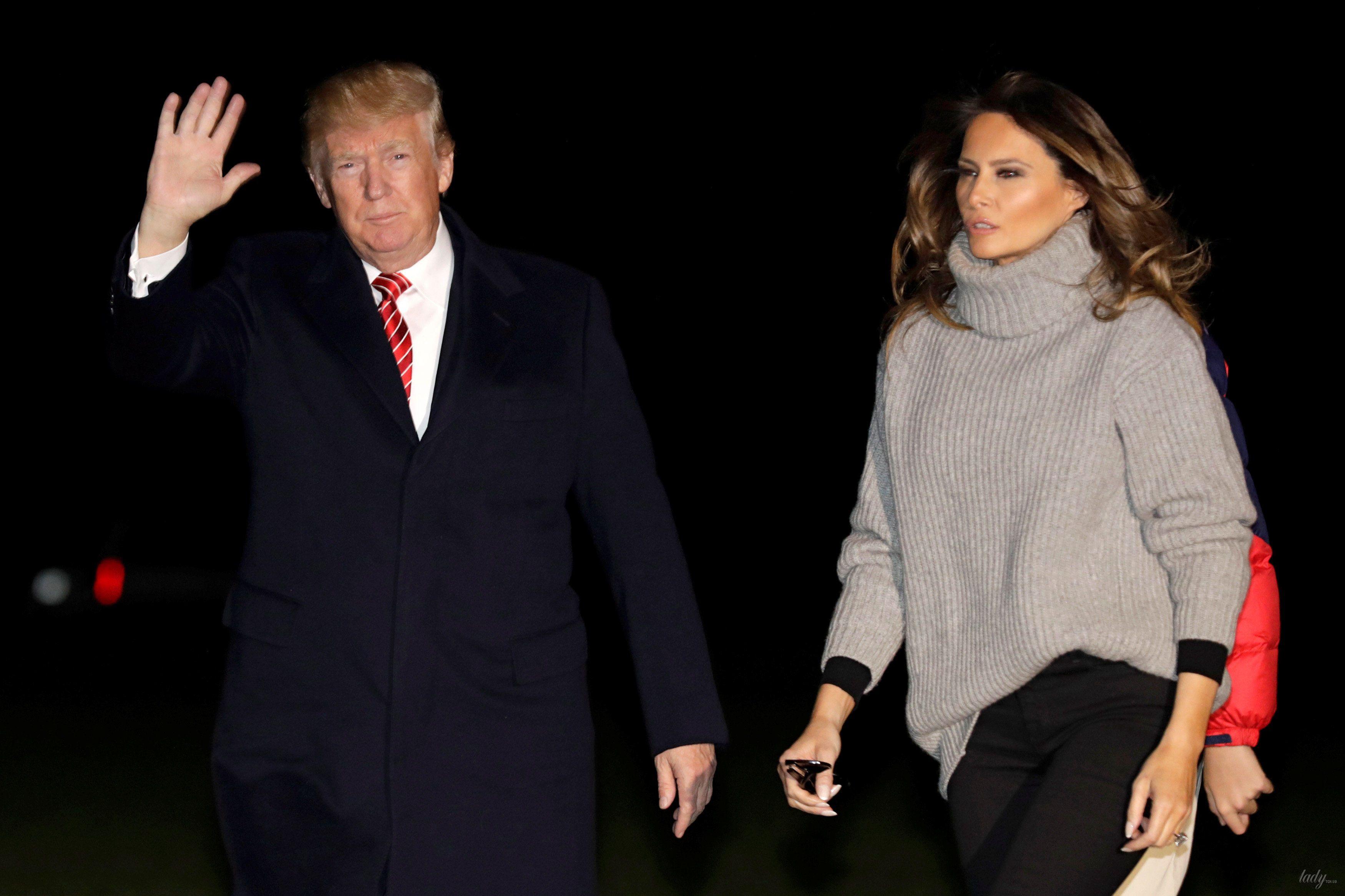 9 осенних образов Мелании Трамп, которые сможет повторить каждая