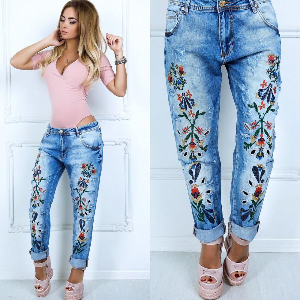 джинсы в стиле Барби