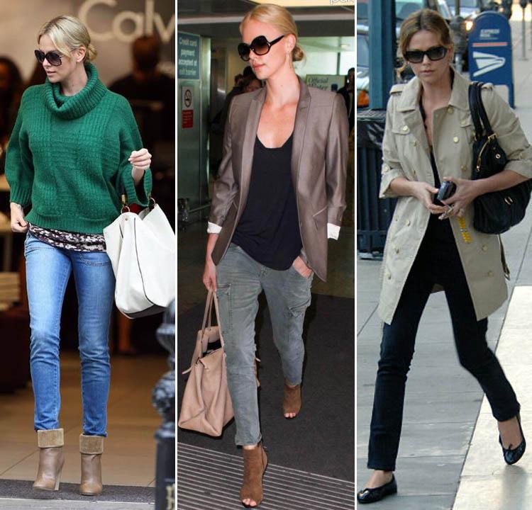 Правила стиля Шарлиз Терон: как сочетать одежду и макияж