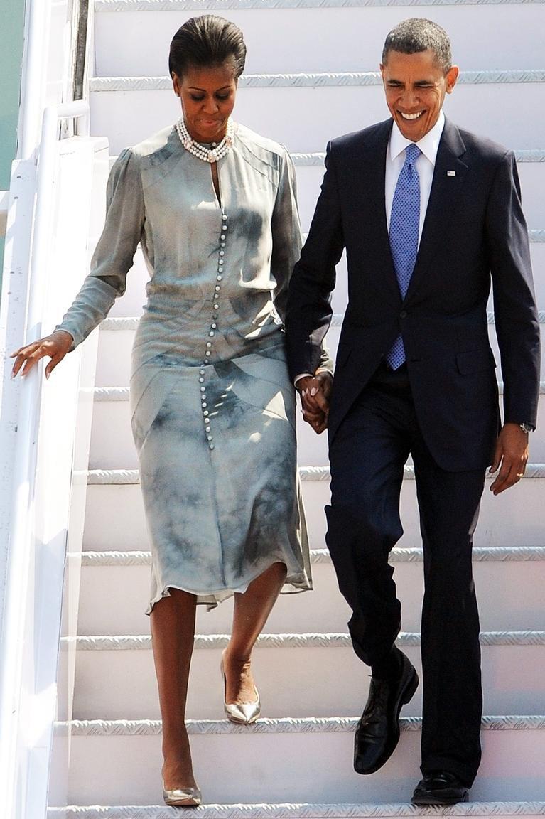 Фэшн-промахи первых леди: Трамп, Миддлтон, Обама