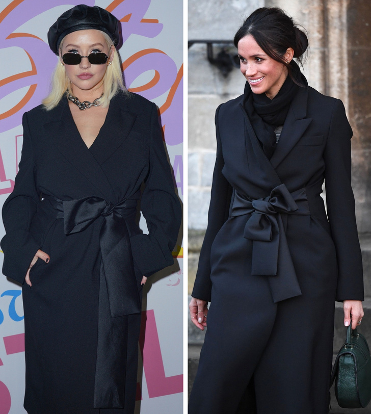 6 пар одинаково одетых знаменитостей, которые выглядят по-разному