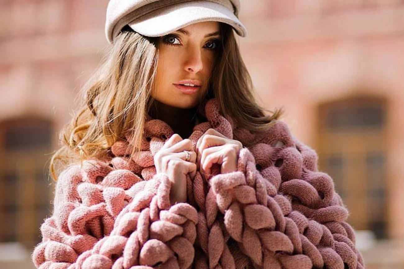 вязаная мода осень-зима 2019