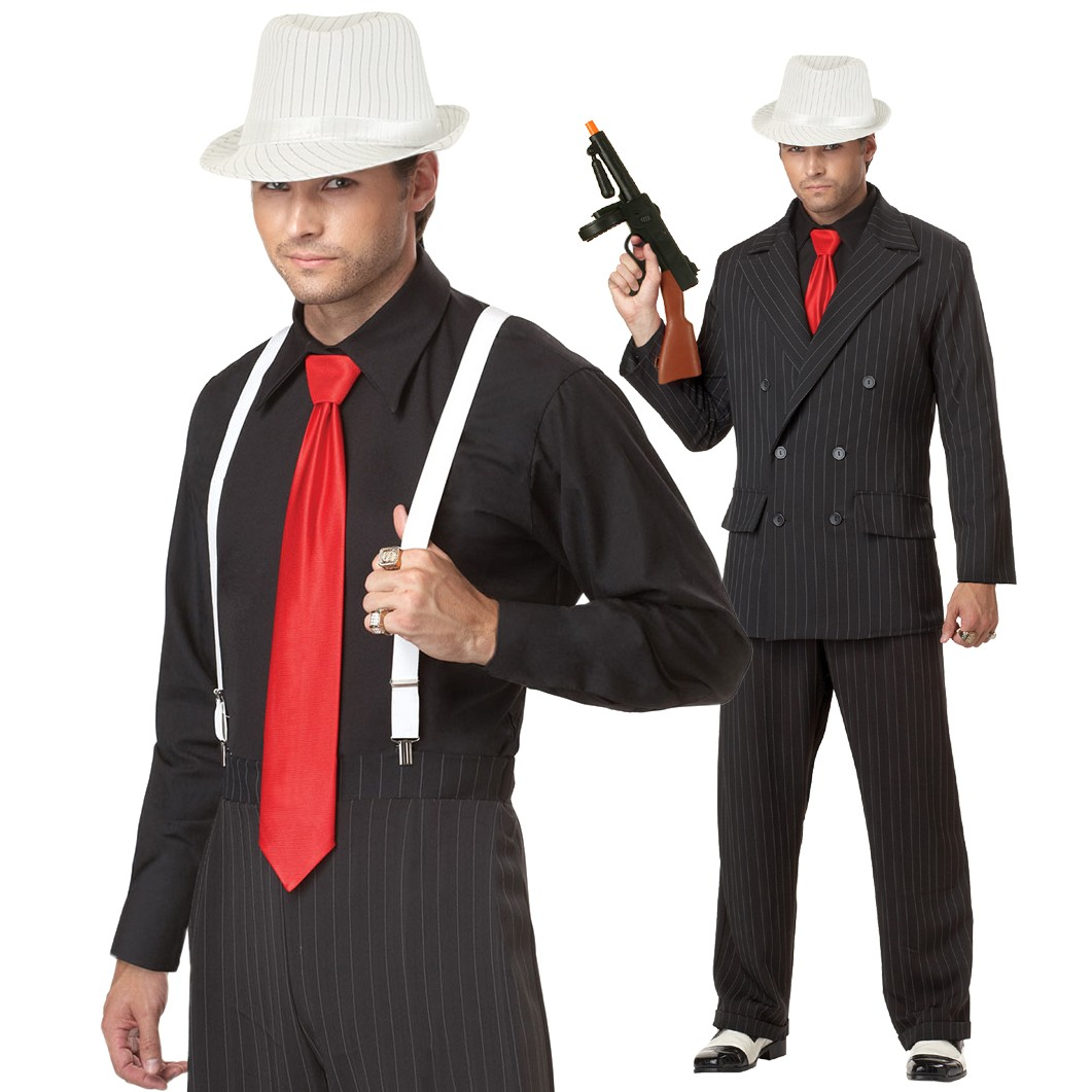 костюм в стиле гангстер