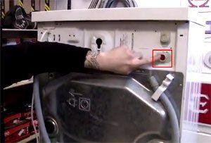 Клапан подачи воды для стиральной машины