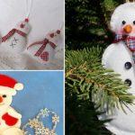 Поделки из фетра к Новому году