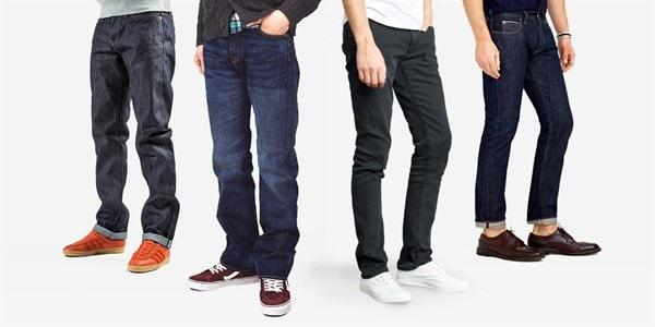 Как подобрать мужские джинсы по размеру