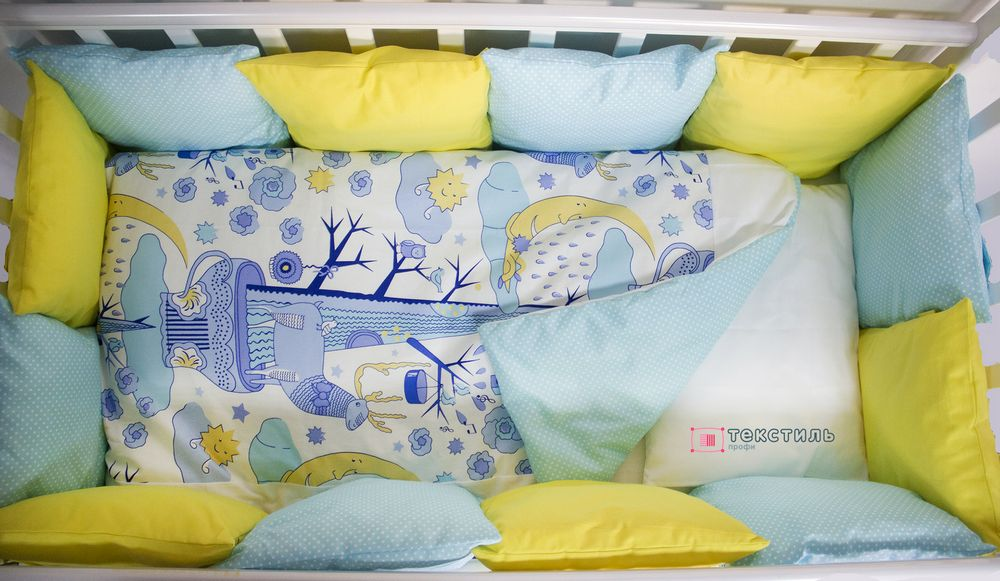 размер постельного белья в кроватку