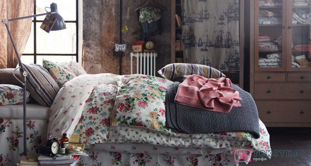 С чего начать прованс в своей спальне? С покрывала и пледа в стиле французского кантри