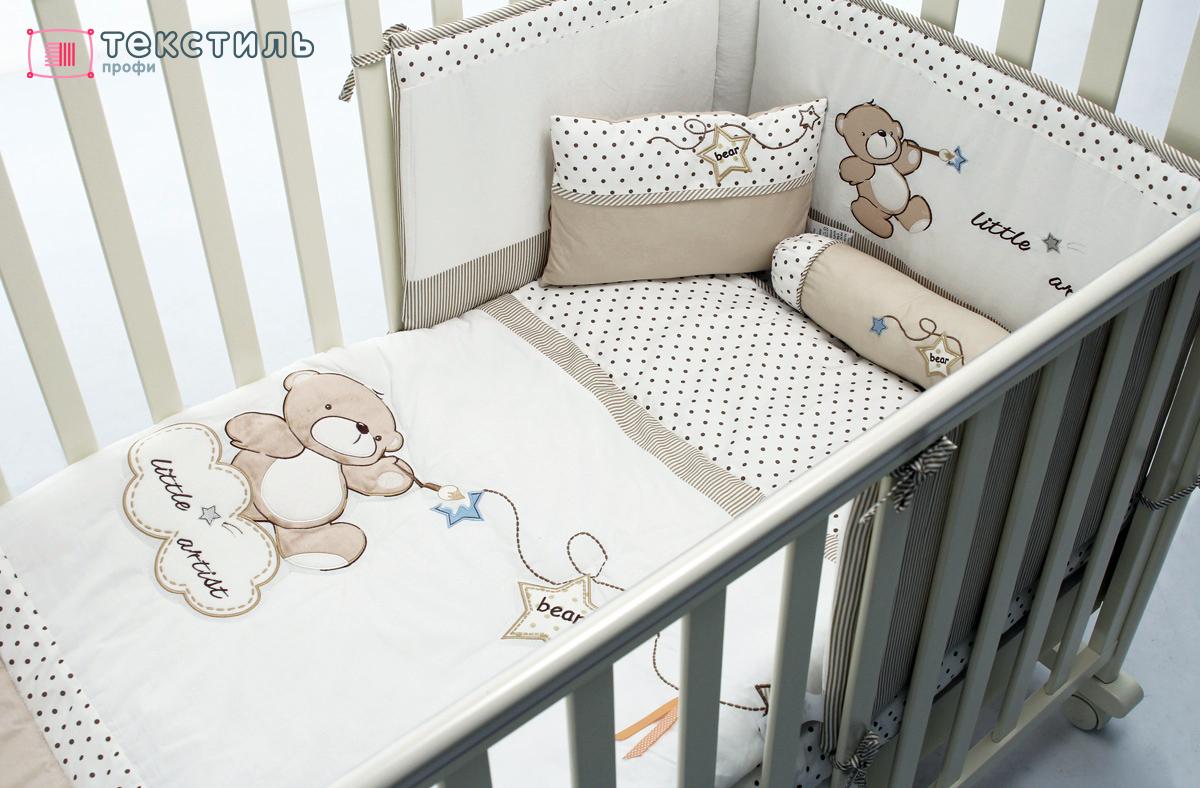 Как сшить постельный комплект в детскую кроватку фото 690